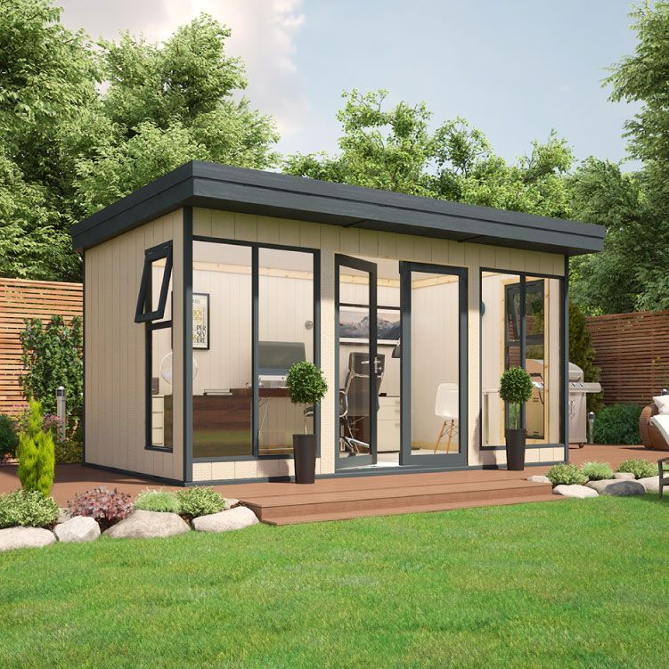 Evolution Insulated Composite Garden Office (With Images