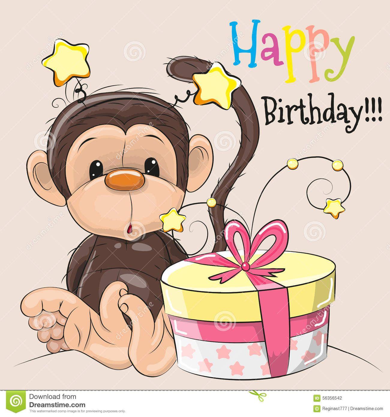5fa7aee85e68 Pin de DK en Happy Birthday! | Feliz cumpeaños, Cumpleaños de monos ...