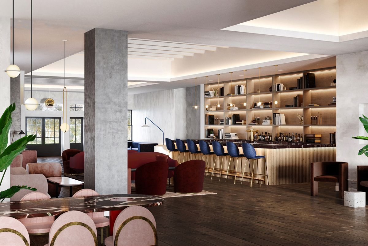 guild hotel san diego interior design in 2019 coast hotels rh pinterest com