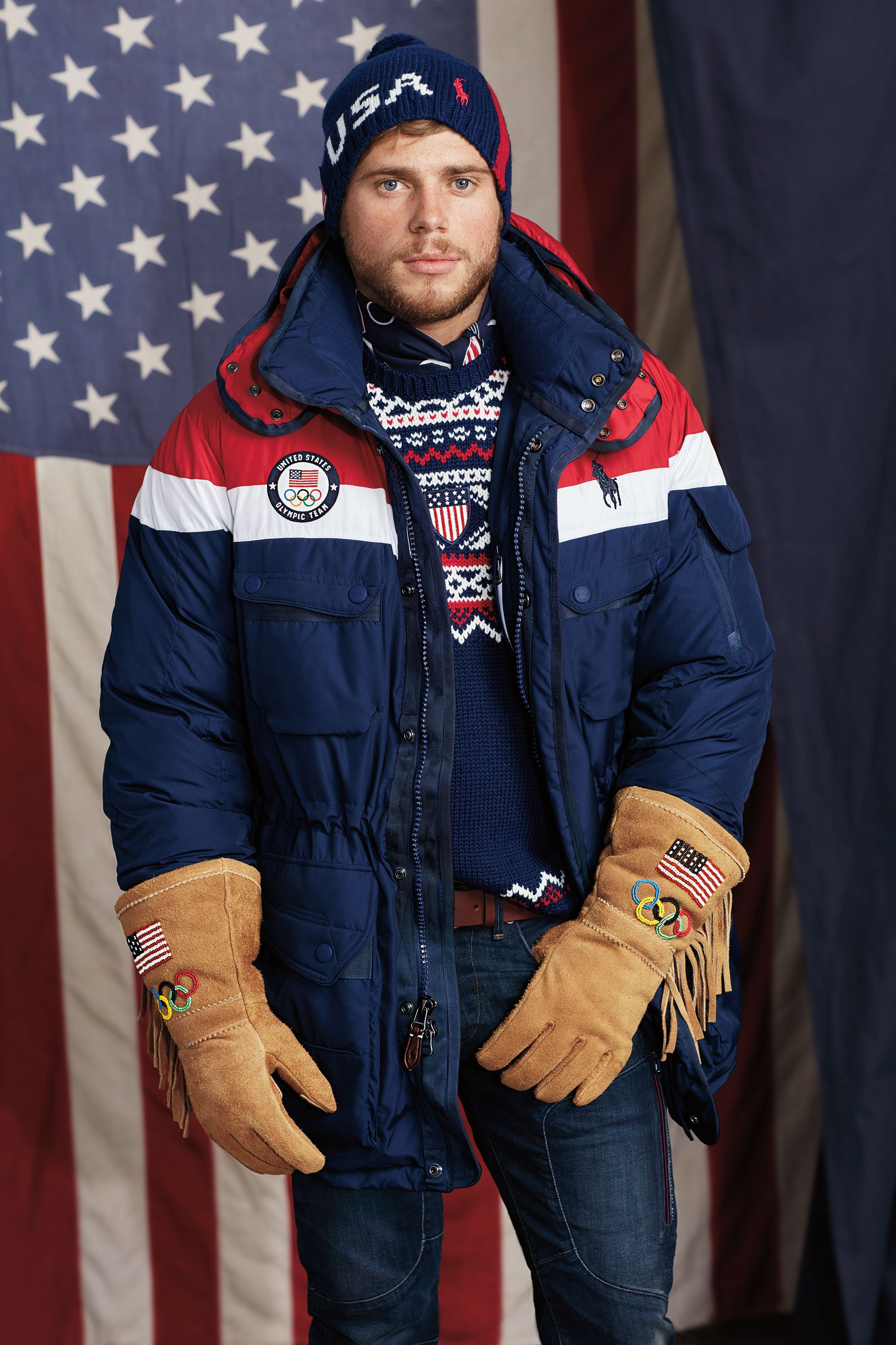 Ralph Lauren Unveils Team Usas Opening Ceremony Olympic Uniforms