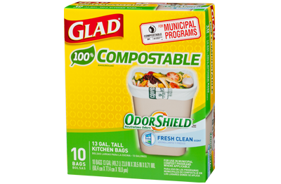 Glad Tall Compole Kitchen Bags Make It Easy To Contribute A Better World Environment While Cleaning Up Your Own