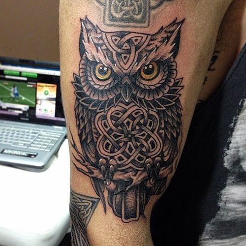 Celtic Owl Tattoo Designs | 58 Awesome Owl Tattoo Ideas ...