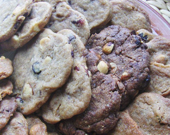 Chokolade/tranebær cookies | Månebarnet