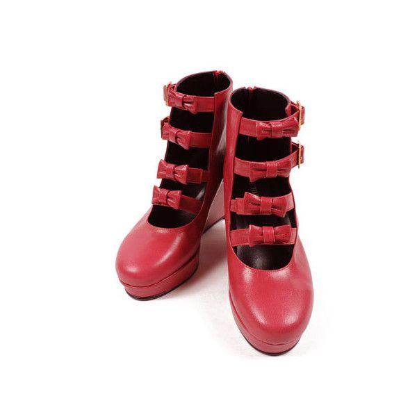 もうチェックした? 2014 2015冬 甘ロリちゃんがチェックすべきシューズまとめ ❤ liked on Polyvore featuring shoes, milk, inc international concepts shoes and inc international concepts