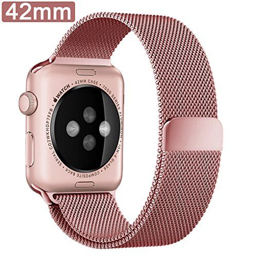 Apple Watch Band 42mm Milanese Loop Mesh Smooth Stainless Steel 38mm Apple Watch Band Apple Watch Strap Apple Watch Bands