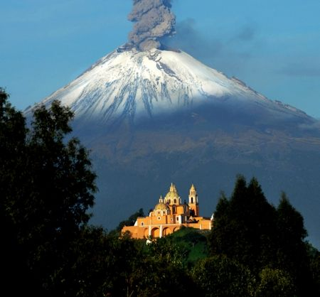 MEXIKO Popocatepetl