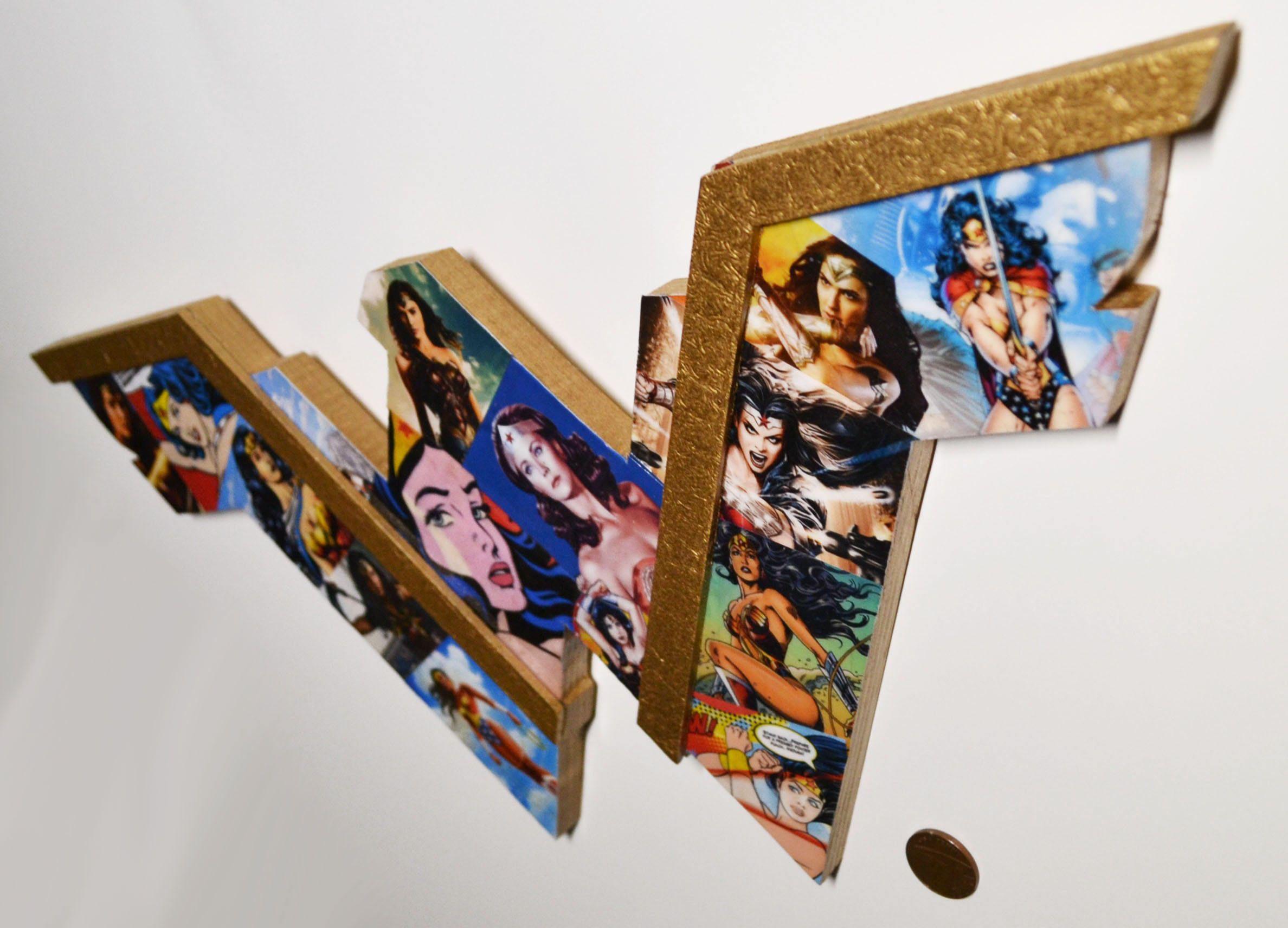 new wonder woman bedroom decor superhero wall art marvel themed rh pinterest com