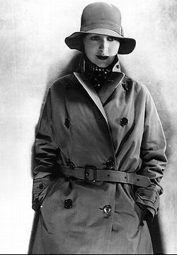 Greta Garbo Trenchcoats In Movies And Media Burberry