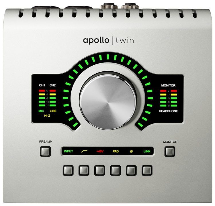 Universal Audio Apollo Twin Usb Duo 10x6 Usb Audio Interface With Uad Dsp Audio Apollo Usb