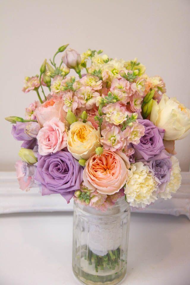 Living fresh pastel wedding flowers wedding things pinterest living fresh pastel wedding flowers mightylinksfo