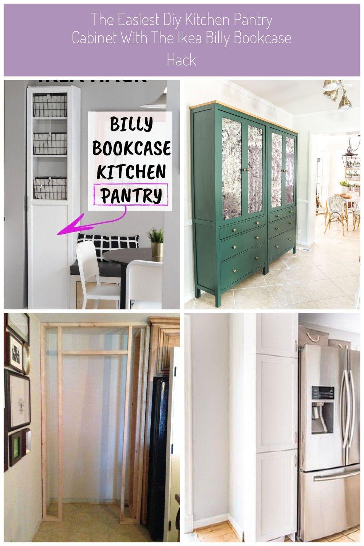 Der Einfachste Diy Küchenschrank Mit Dem Ikea Billy Bookcase Hack
