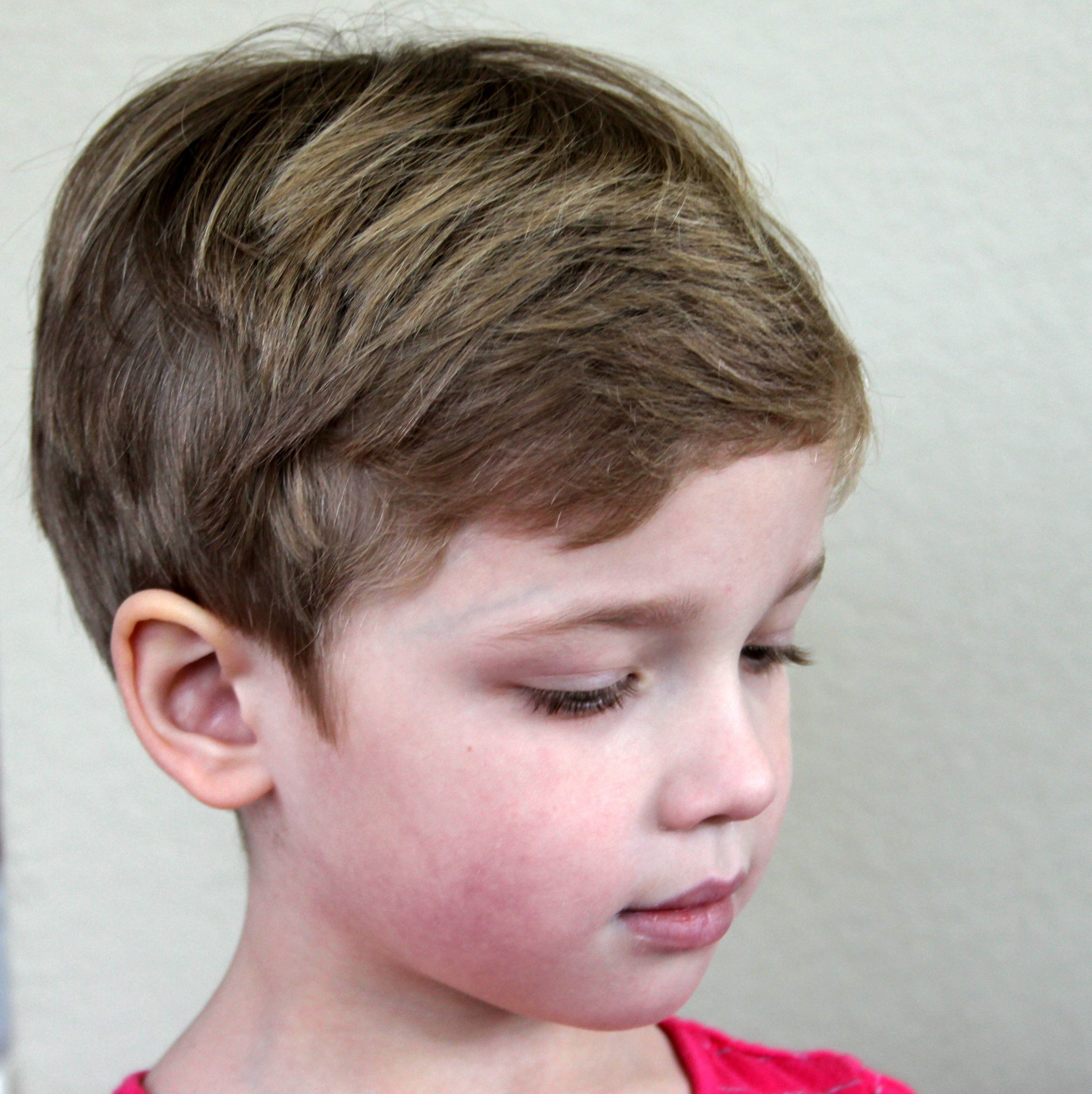 pixie hair on a five year old | pixie cuts for young girls