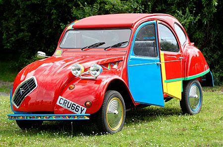 Citroen 2cv Picasso Autos Coches Clasicos Autos Y Motos