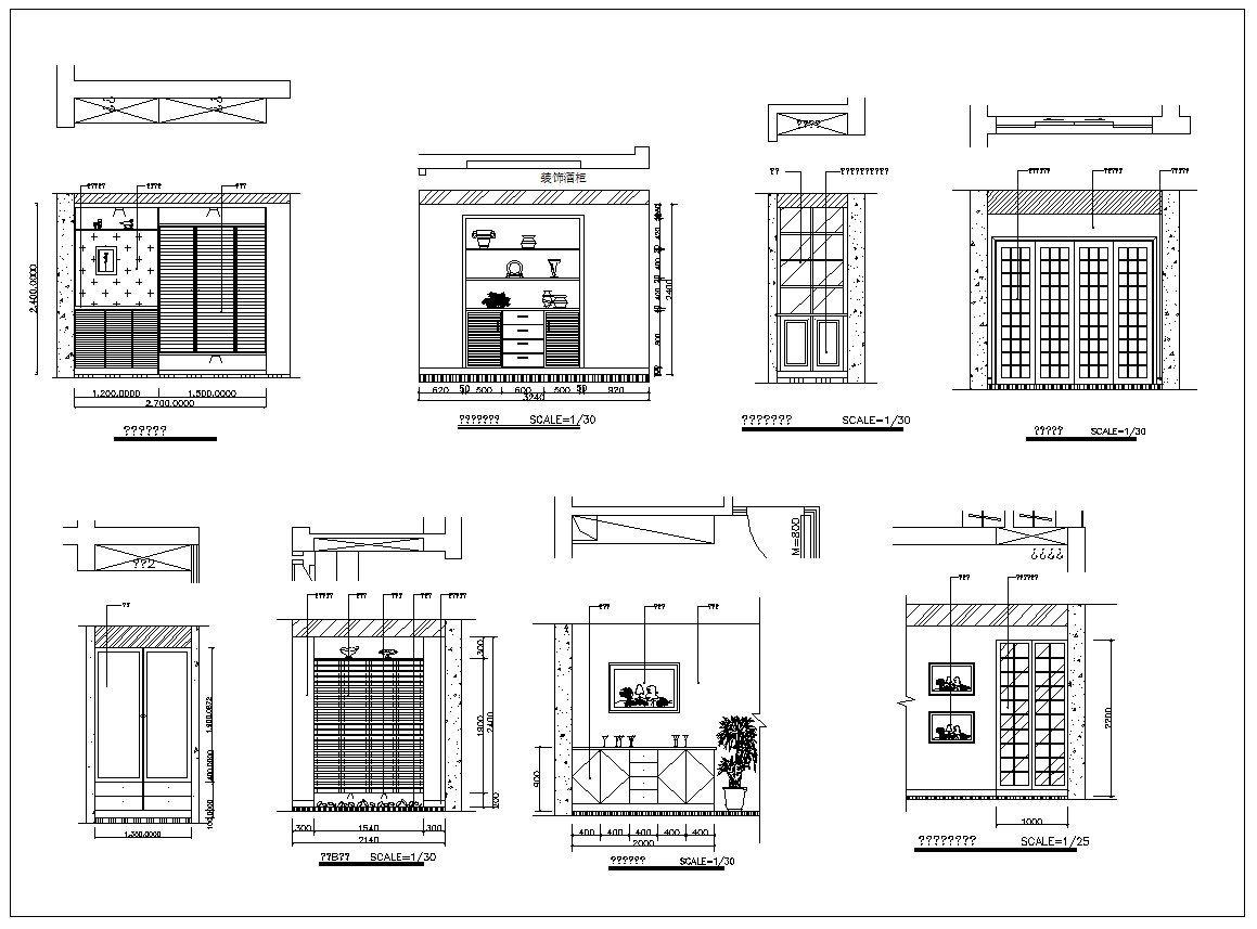 interior design cad design details elevation collection v 2 rh pinterest com