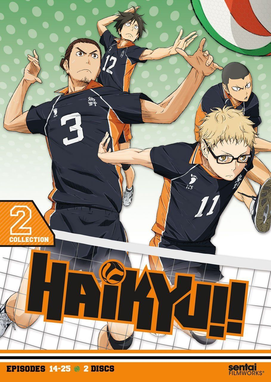Haikyu!!: Collection 2 (DVD) | Volleyball team