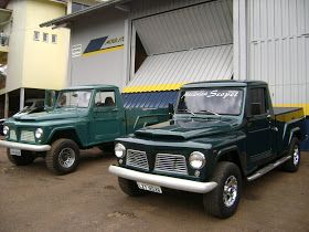 Pick Up Jeep Willys Ford F 75 Picapes Carros E Caminhoes Caminhoes Classicos