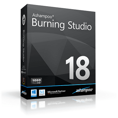 Ashampoo Burning Studio 18 Gveaway (12/31/2016) {WW} via