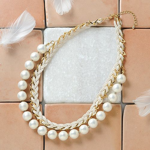 Necklace コットンパール