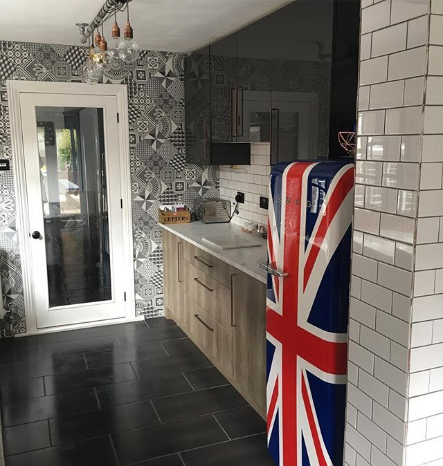 Ted Baker GeoTile Deco Wall & Floor Tiles 15x15cm   Real ...