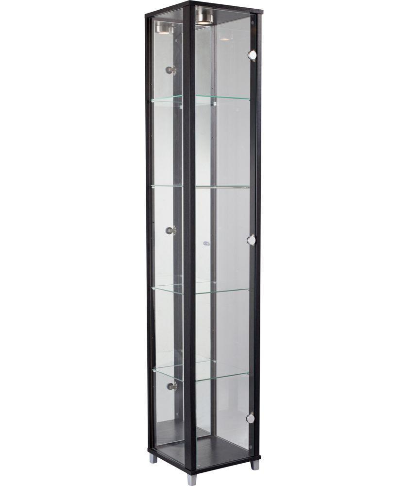 Single Glass Door Display Cabinet Black At Argos Co Uk Your