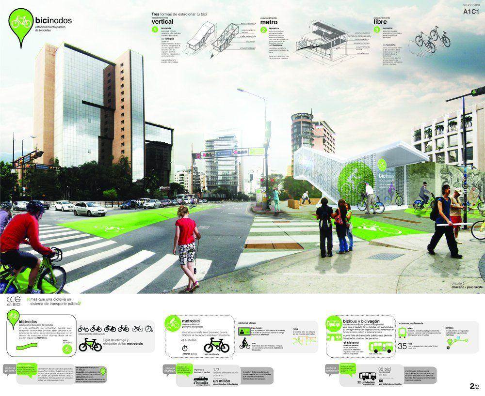 Galería de Primer Lugar Concurso CCS en BICI: Ciclovias Urbanas - 6