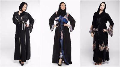 Beautiful Lookbook Abaya 2017 اروع و اجمل جديد موديلات عبايات خروج Fashion Abaya Nun Dress