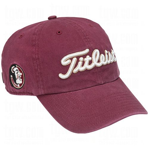 Collegiate Hat - Florida State 2013 by Titleist  Shop Quality Titleist Golf  Headwear 5d501bd502c