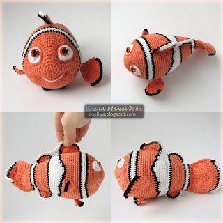 Krawka: Baby Dory crochet free pattern | 320x320