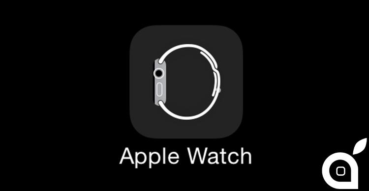 Svelata l'icona dell'applicazione per gestire l'Apple Watch da iPhone