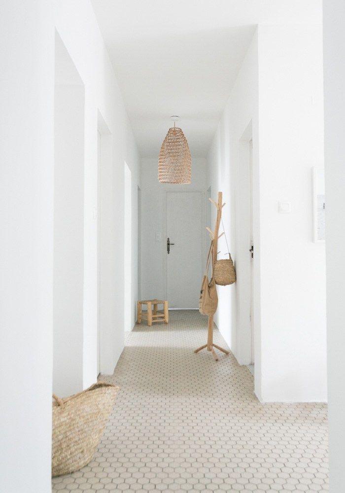 before after our minimalist beach hallway makeover mininalist rh pinterest com
