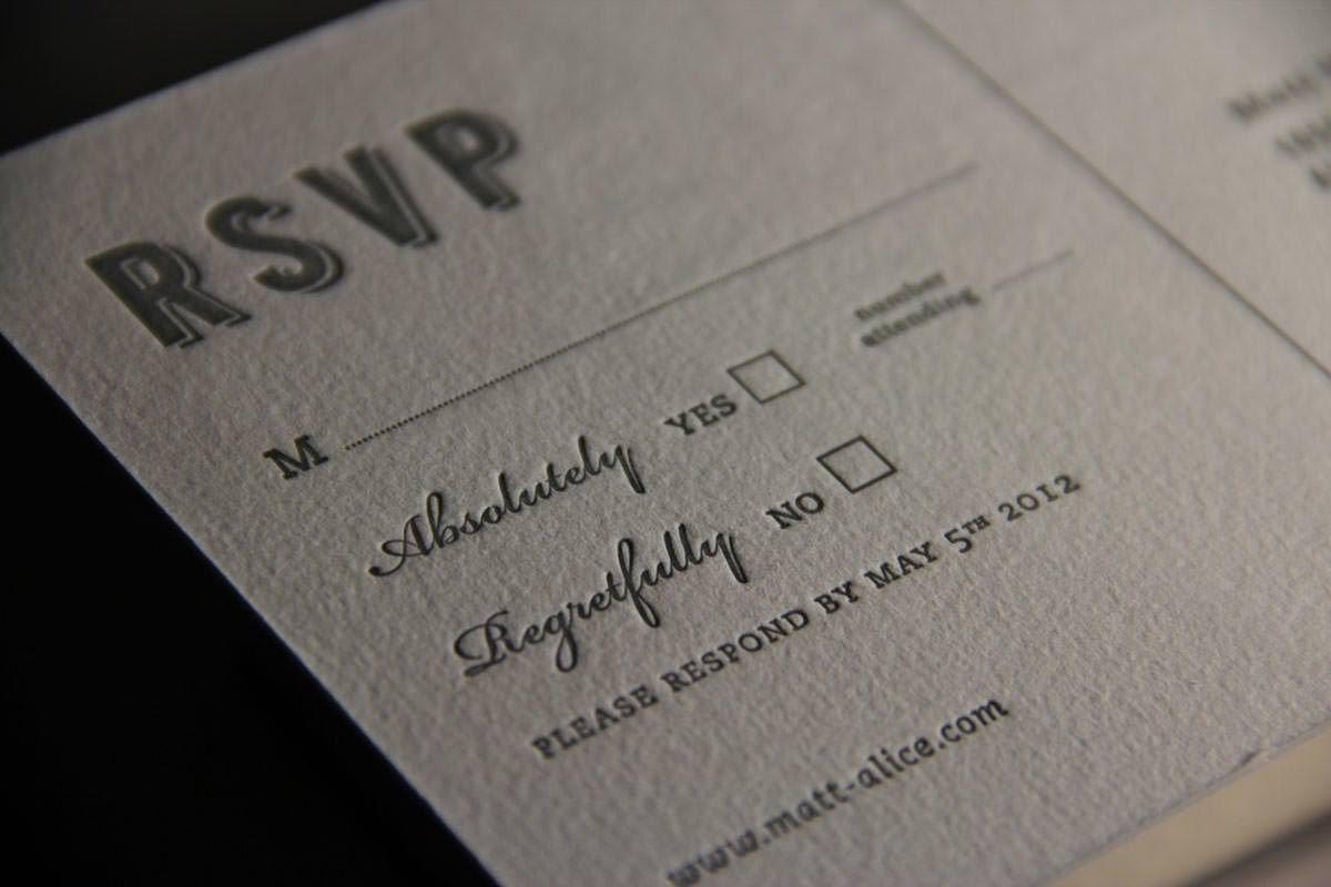 The coupleu0027s monogram makes this letterpress wedding