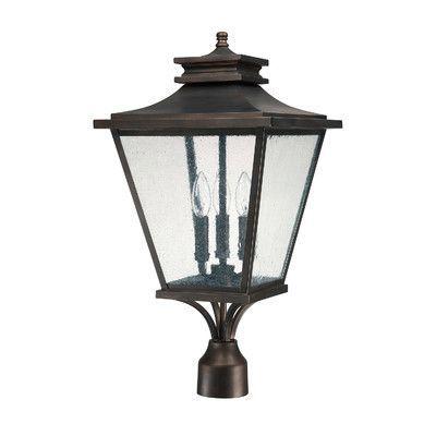 alcott hill kallie outdoor 3 light lantern head products outdoor rh pinterest com