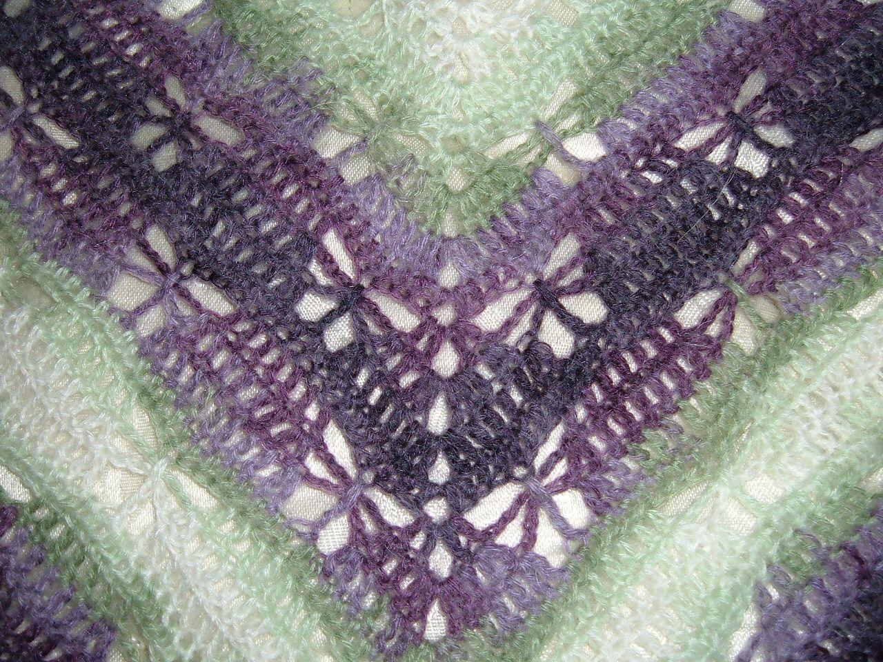 Ravelry: Butterfly Stitch Prayer Shawl pattern by njSharon AND ...