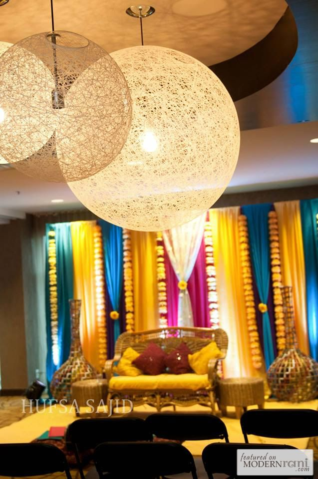 wedding stage decoration pics%0A Mehendi Function more inspiration   http   www ModernRani com
