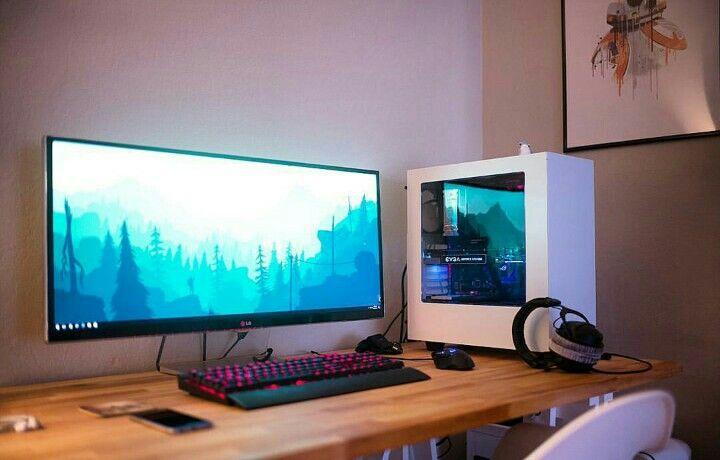 gaming desks gaming desks computer desk setup desk setup rh pinterest com