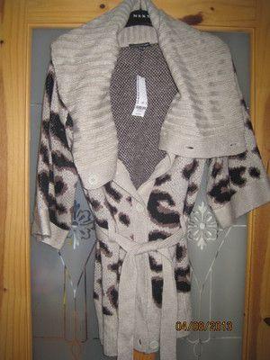Warehouse Ladies Leopard Print Cardigan Size UK 6 Brand New | eBay ...