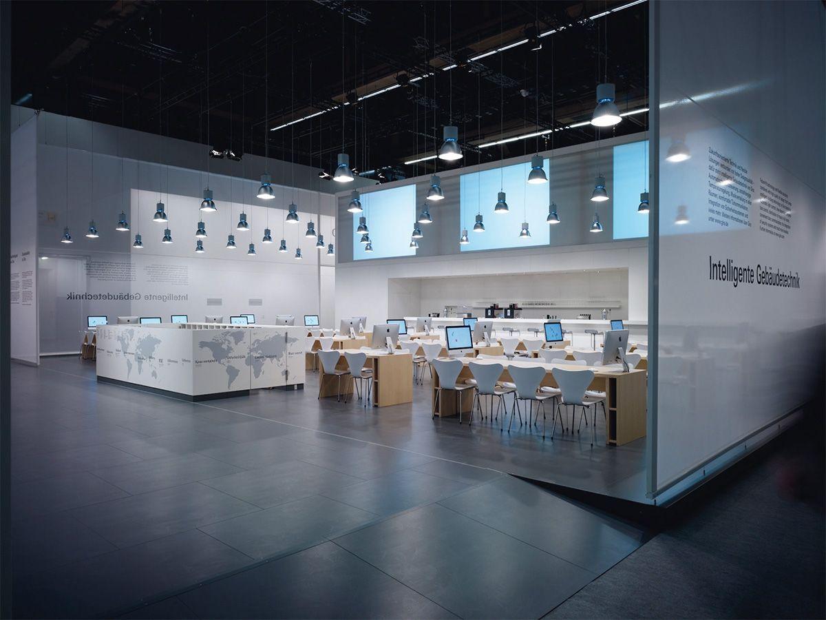 gira auf der light building in frankfurt haus gross communications exhibition pinterest. Black Bedroom Furniture Sets. Home Design Ideas
