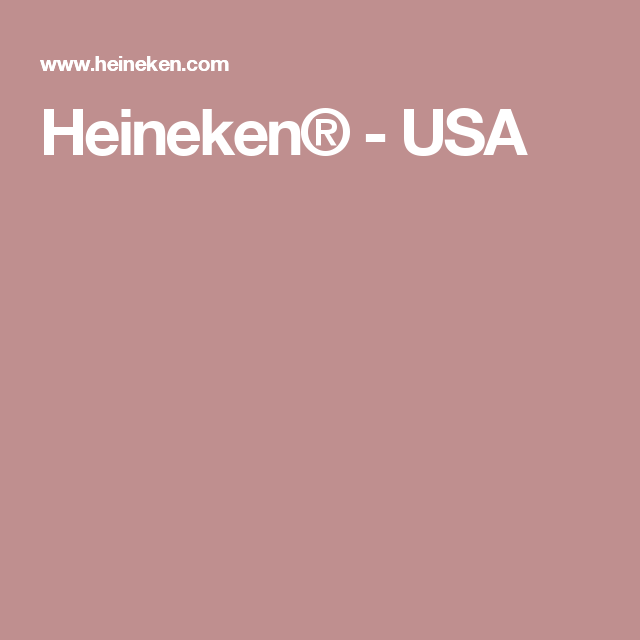 Heineken usa whats your play sweepstakes online