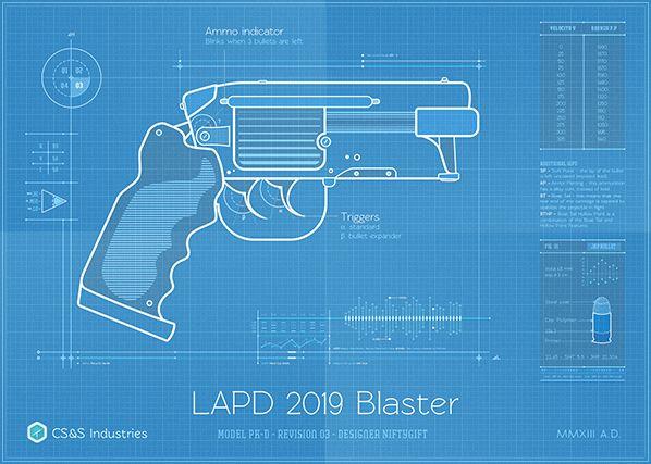 N7 Valkyrie Rifle Blueprint by Volpin Props #MassEffect Video Game - new blueprint gun art