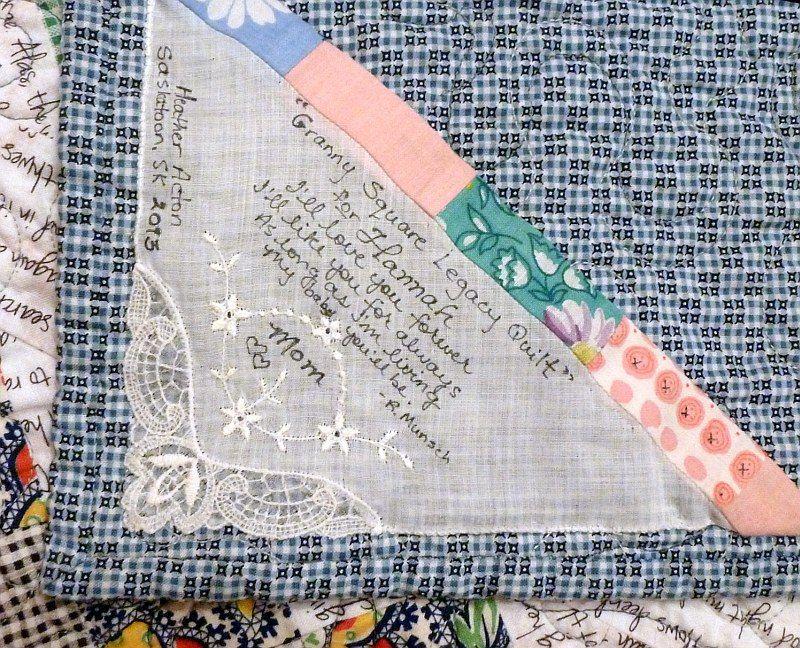 How to Design Beautiful Quilt Labels (Tutorial) | Etiquetas