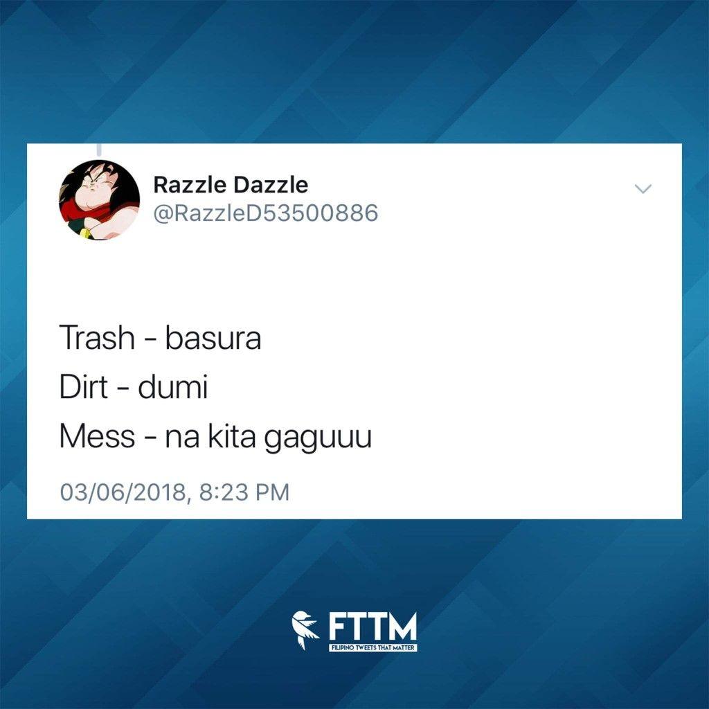 Pin by Ellain Espiritusanto on tagalog laughs | Filipino quotes