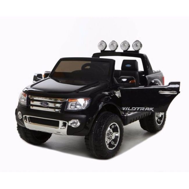Licensed Ford Ranger Kids Ride On Car Black 12v