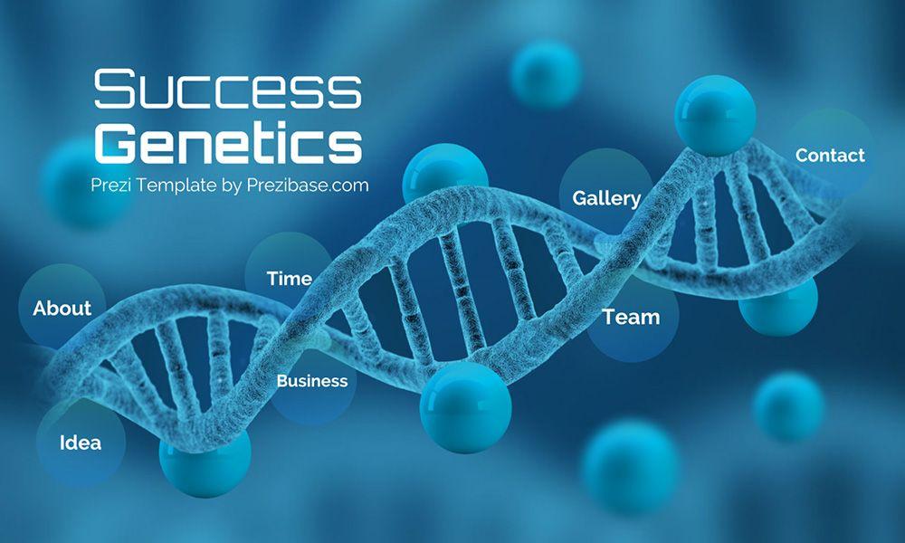 3d Medical Biology Dna Creative Genes Success Prezi Next
