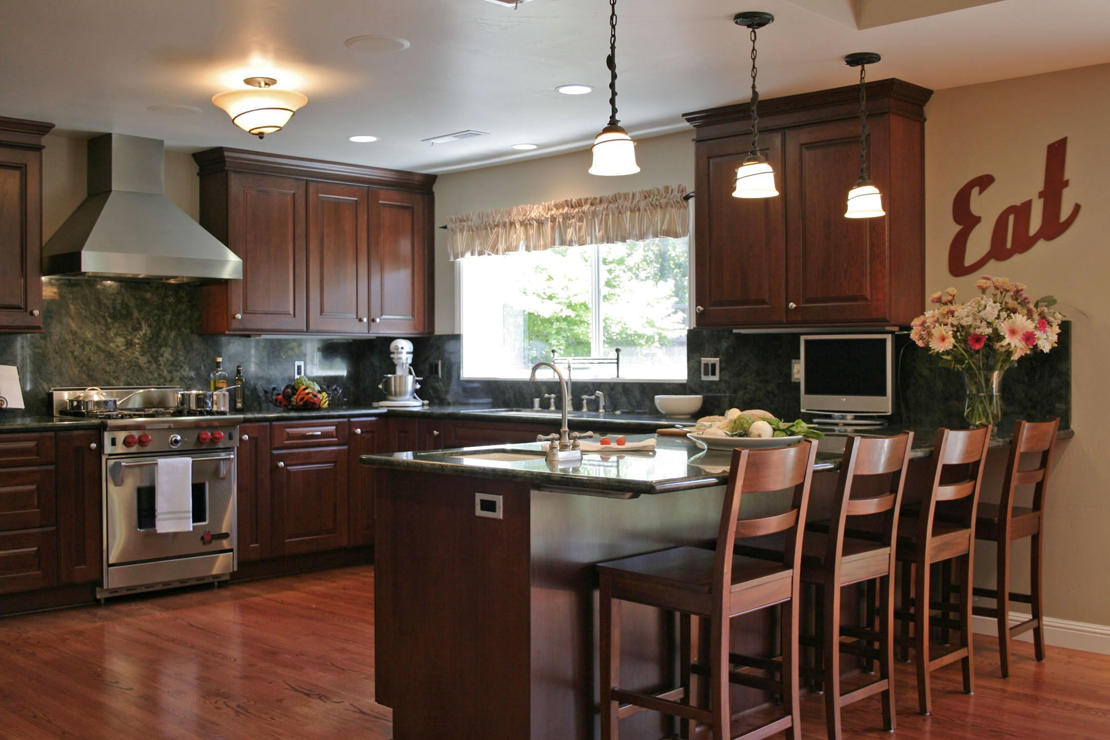 transitional kitchen open u shaped kitchen a functional design that allows for easy on u kitchen interior id=13496