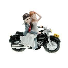 figurine moto piece montee mariage