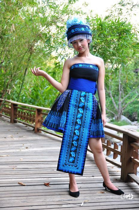 Hmong clothing pinterest hmong clothing for Laos wedding dress for sale