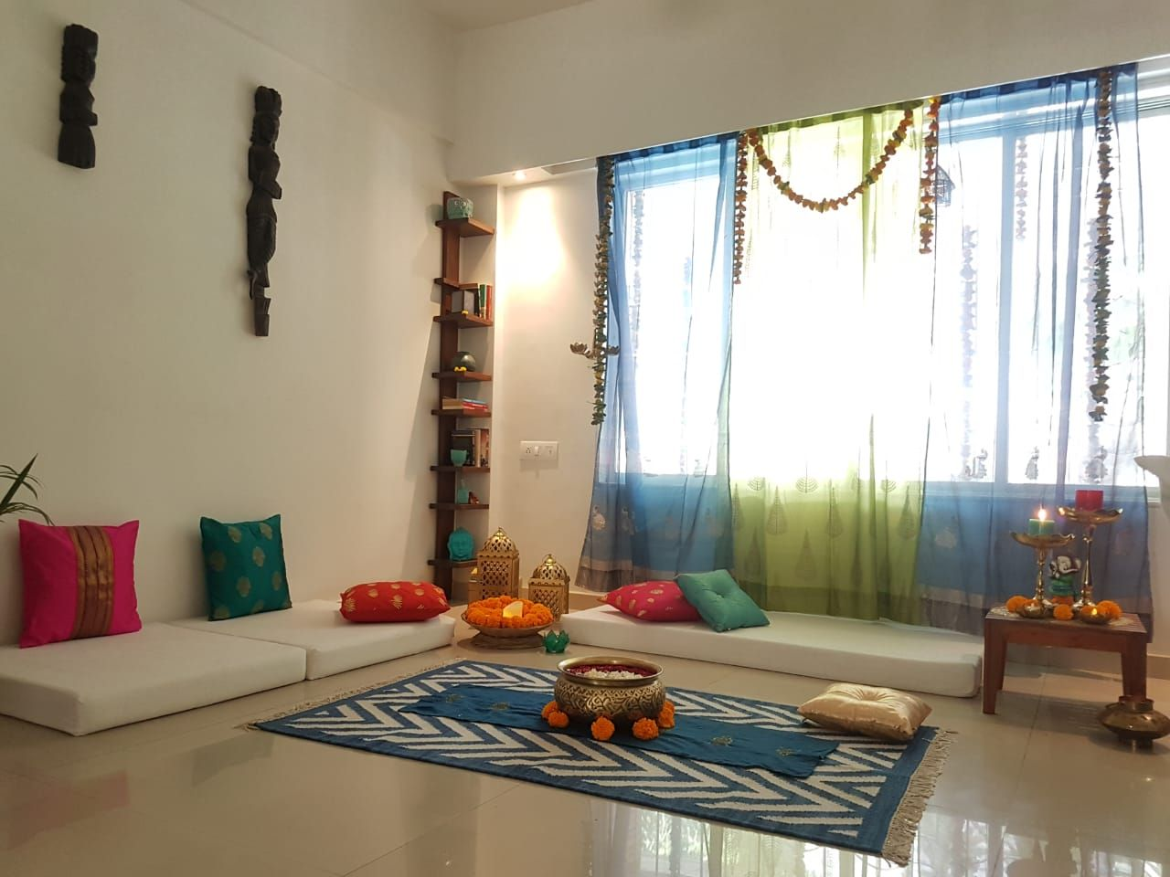 kajal tyagi home tour thekeybunch art interiors home decor rh pinterest com