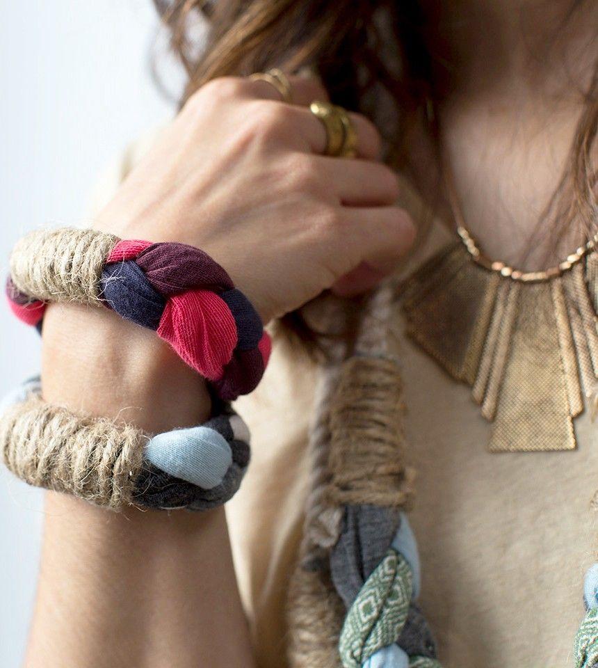 Geflochtener Schmuck - Braided Jewelry