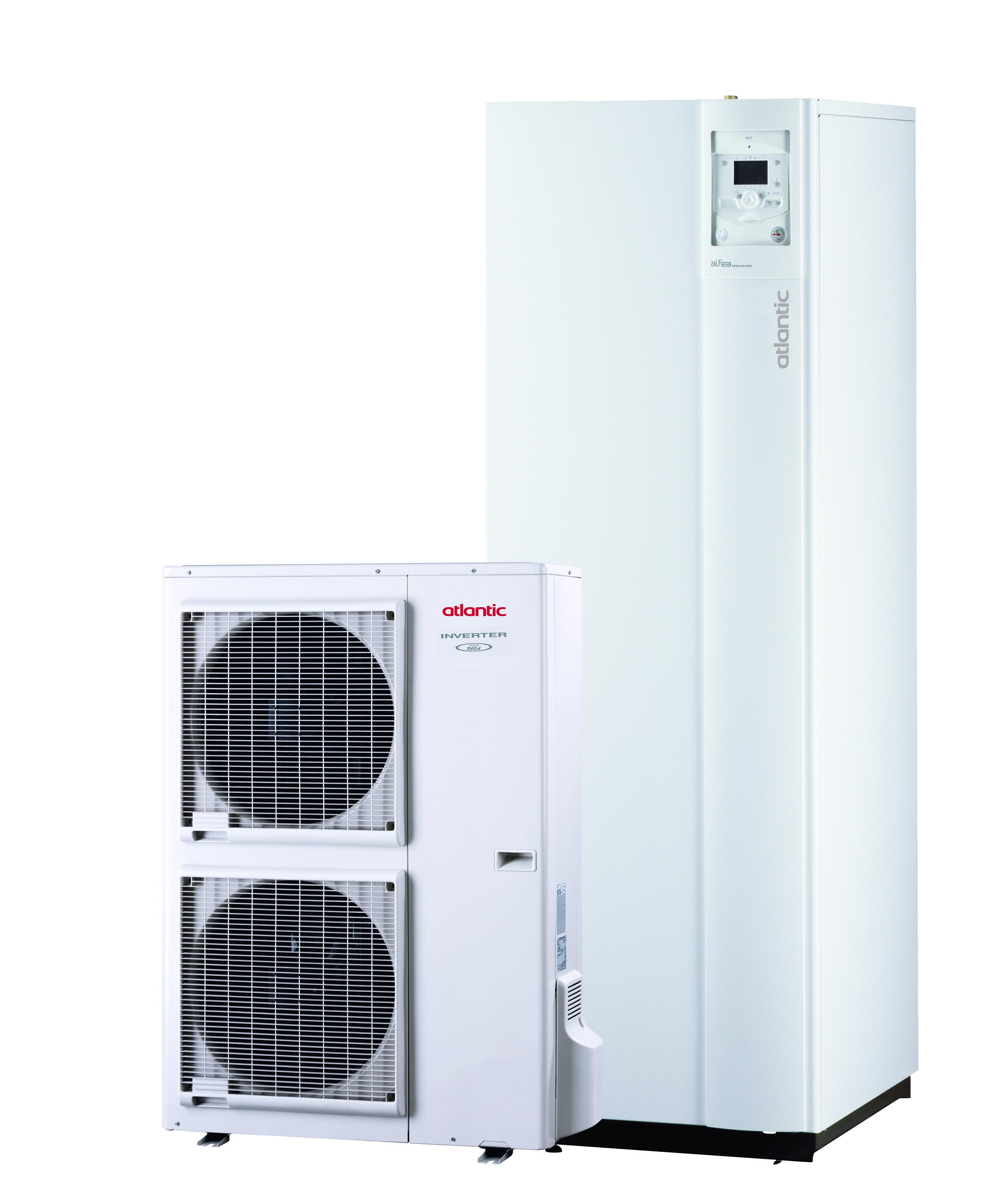Atlantic Heat Pump With Alfea Excellia Duo Atlantic Comfort