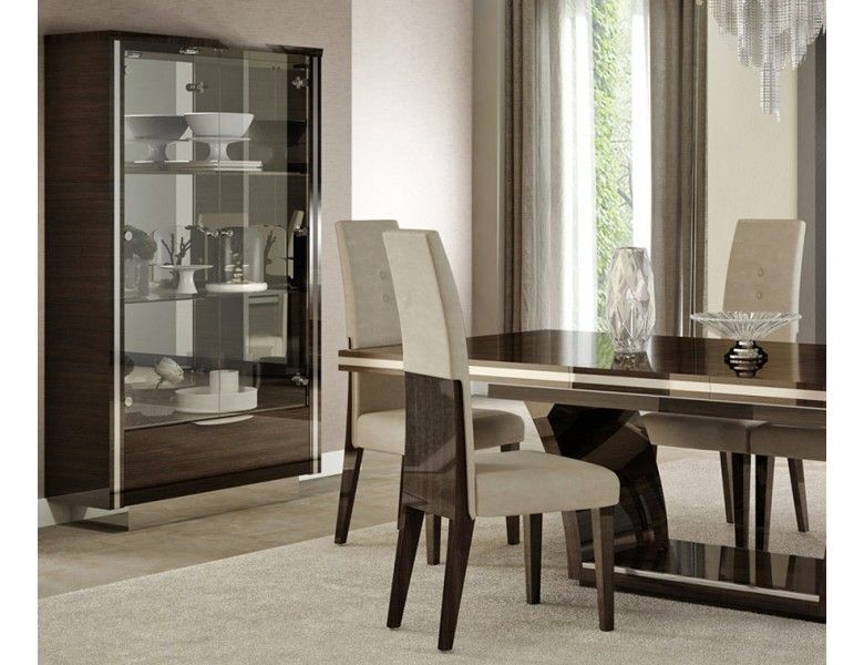 Giorgio Bell Modern Dining Table Set In 2020 Black Dining Room